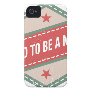Proud to Be has Maker vintage logo Case-Mate iPhone 4 Cases