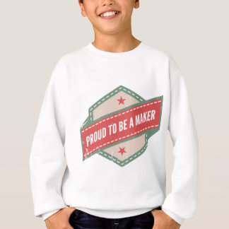 Proud to Be has Maker vintage logo Sweatshirt
