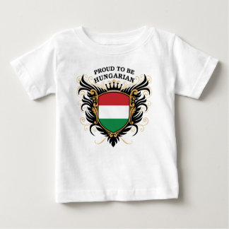 Proud to be Hungarian Baby T-Shirt
