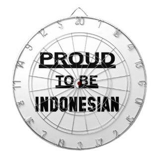 Proud to be Indonesian Dartboard
