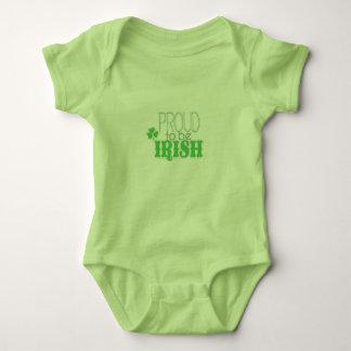 Proud to be Irish Clothing Baby Bodysuit