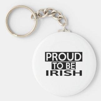 PROUD TO BE IRISH KEYCHAIN