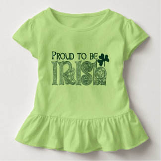 Proud to be Irish, St Patricks Day Celtic Knot Toddler T-shirt