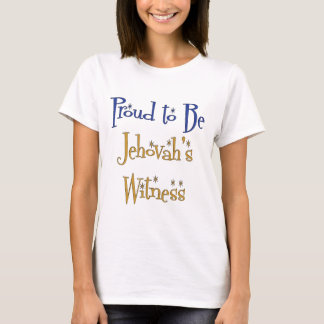Proud to be Jehovah's Witness T-Shirt