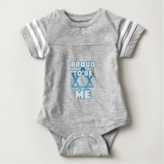 Proud To Be Jewish Baby Bodysuit