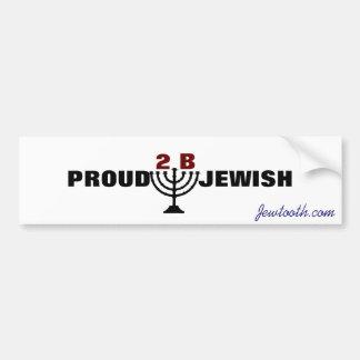 Proud to be Jewish! Bumper Sticker