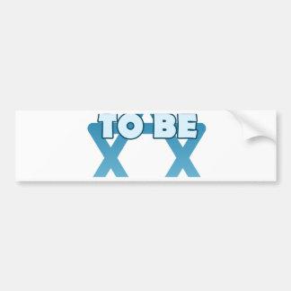 Proud To Be Jewish Bumper Sticker