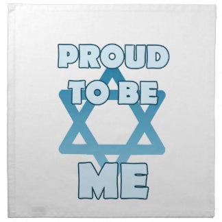 Proud To Be Jewish Napkin
