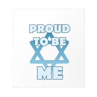 Proud To Be Jewish Notepad