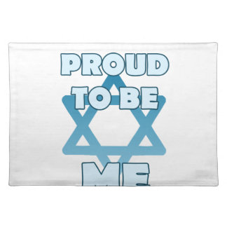 Proud To Be Jewish Placemat