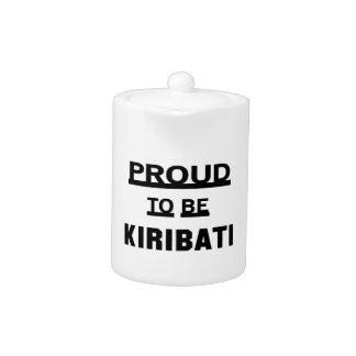 Proud to be Kiribati