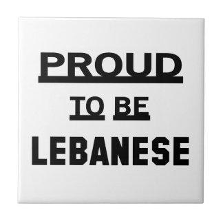 Proud to be Lebanese Tiles