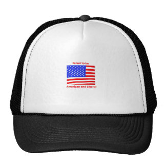 Proud to be Liberal Trucker Hats