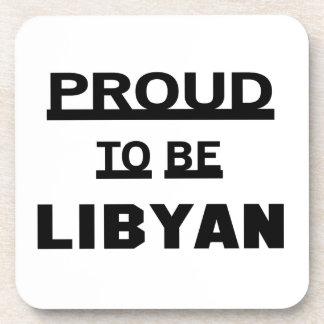Proud to be Libyan Beverage Coasters