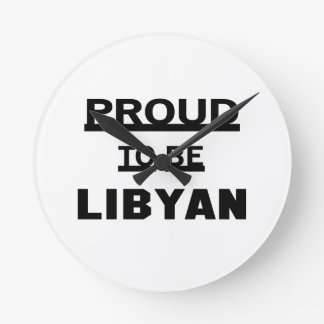 Proud to be Libyan Clock