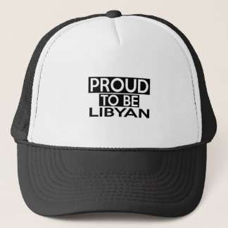 PROUD TO BE LIBYAN TRUCKER HAT