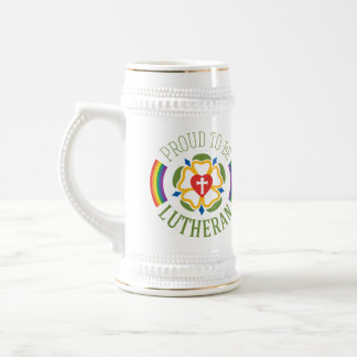 """Proud to be Lutheran"" Beer Stein"