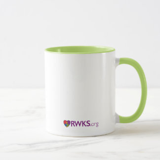 Proud to be Lutheran Mug - Lime Inside