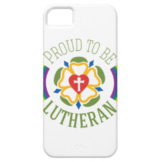 """""""Proud to be Lutheran"""" Slim iPhone 5/5S Case"""