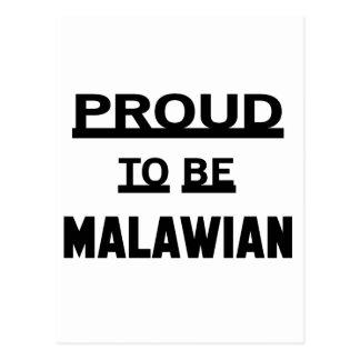 Proud to be Malawian Postcard