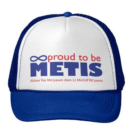 Proud to be Metis Hat