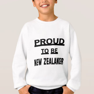 Proud to be New Zealander Sweatshirt