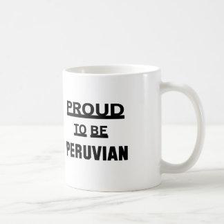 Proud to be Peruvian Coffee Mug