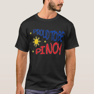 Proud to be Pinoy T-Shirt