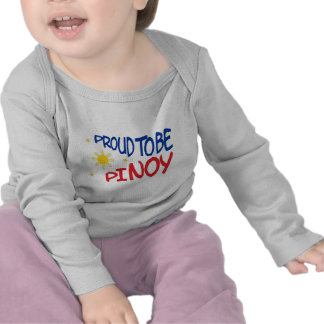 Proud to be Pinoy Tee Shirt