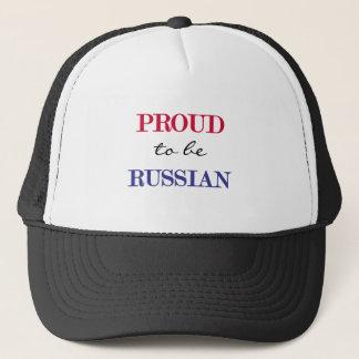 Proud To Be Russian Trucker Hat