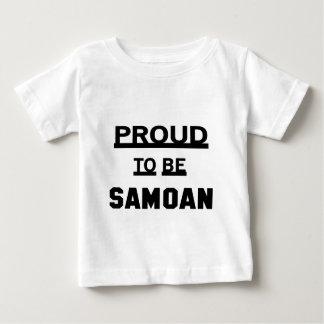 Proud to be Samoan Baby T-Shirt