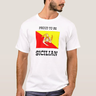 Proud to be Sicilian T-Shirt