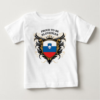 Proud to be Slovenian Baby T-Shirt