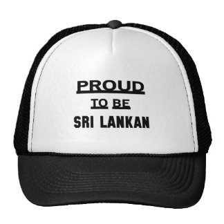 Proud to be Sri Lankan Trucker Hat