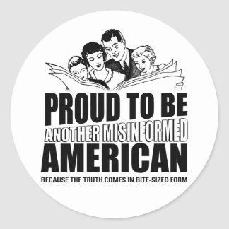 Proud to be - Sticker
