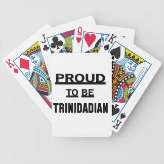 Proud to be Trinidadian Poker Deck