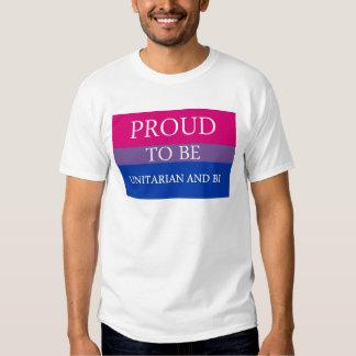 Proud To Be Unitarian and Bi Shirt