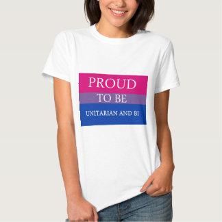 Proud To Be Unitarian and Bi Shirts