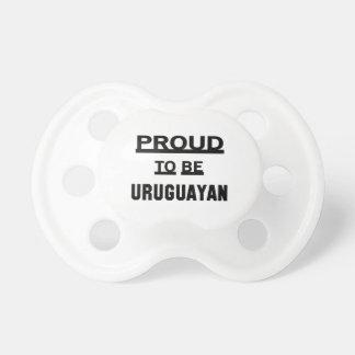 Proud to be Uruguayan Baby Pacifier