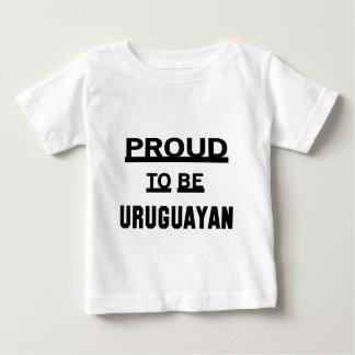 Proud to be Uruguayan Baby T-Shirt
