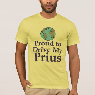 Proud to Drive My Prius Shirt
