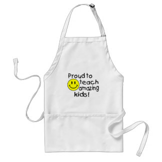 Proud To Teach Amazing Kids Smiley Standard Apron