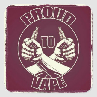 """Proud to Vape"" Sticker"