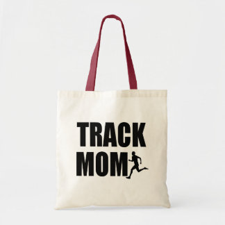 Proud Track Mom Tote Bag