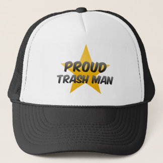 Proud Trash Man Trucker Hat