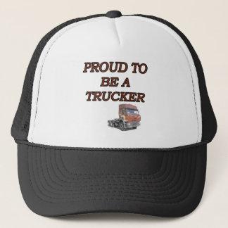 PROUD TRUCKER TRUCKER HAT