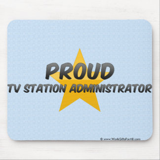 Proud Tv Station Administrator Mouse Pad