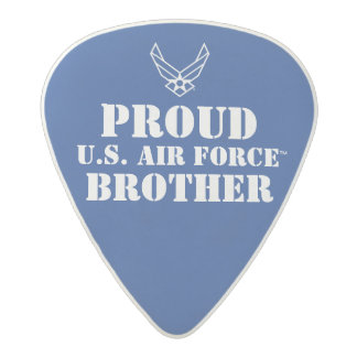 Proud U.S. Air Force Brother Acetal Guitar Pick