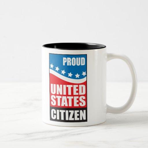 Proud U.S. Citizen Mugs
