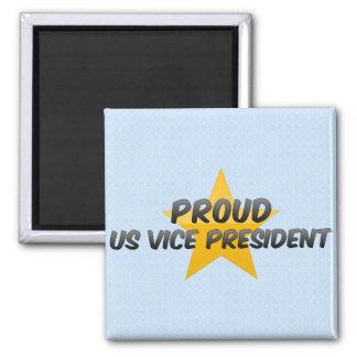 Proud Us Vice President Fridge Magnet
